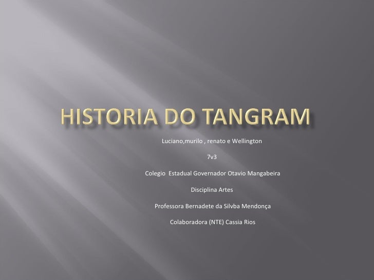 Luciano,murilo , renato e Wellington  7v3  Colegio  Estadual Governador Otavio Mangabeira Disciplina Artes  Professora Ber...