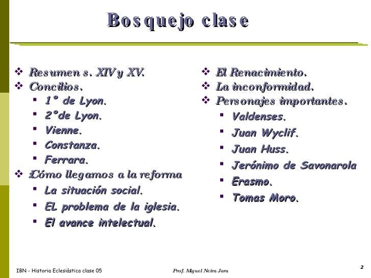Historia eclesiastica I Iglesia Reformada Slide 2