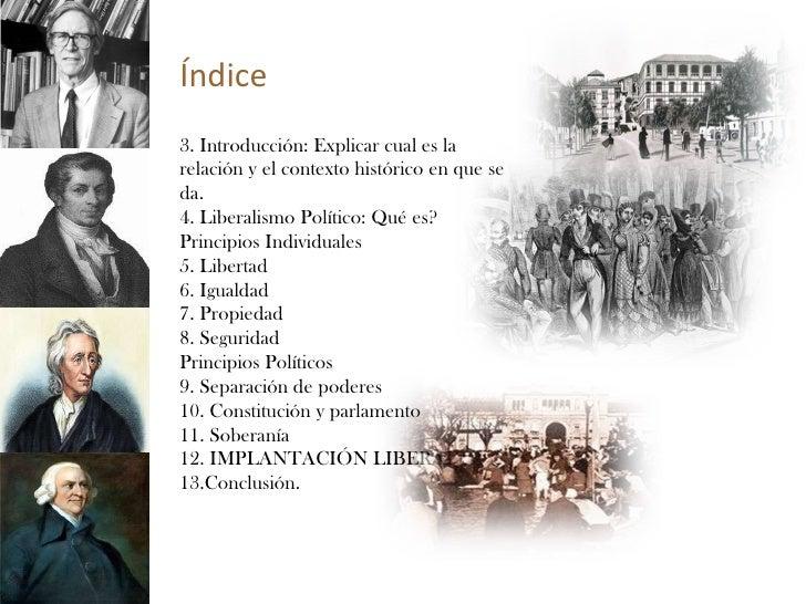 Liberalismo Politico  Slide 2