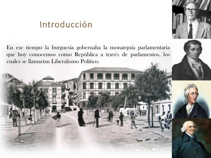 Liberalismo Politico  Slide 3