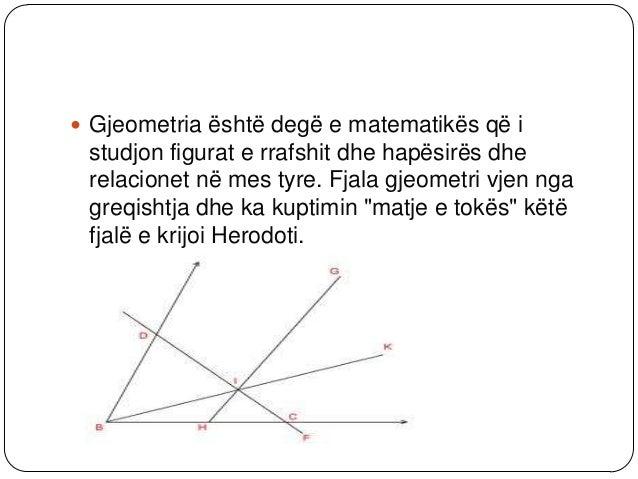 Numrat në gjeometri Në Greqinë e lashtë Pythagorea njihet përrolin e numrave nëgjeometri. Megjithatë, zbulimi i gjatësisë...
