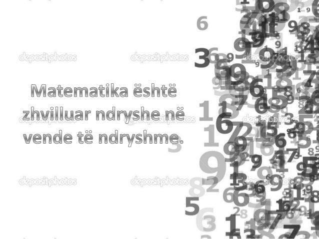 Matematika Egjiptiane. Matematika egjiptiane Ireferohet matematikës tëshkruar në gjuhën egjiptiane.Nga periudhahelenistik...