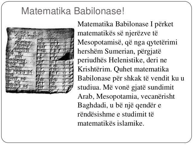 Matematika Greke. Në Greqinë antike matematikapërjetoi një zhvillim të madh nganjë plejadë e tërë matematikanëshsiç janë ...