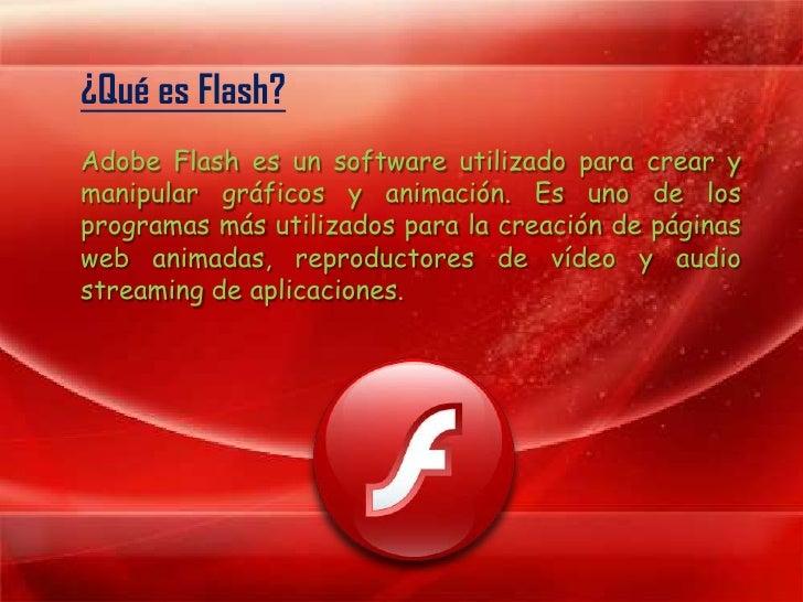 Historia de Adobe Flash Slide 2