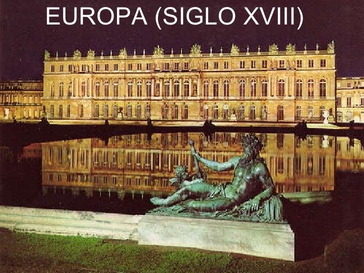 EUROPA (SIGLO XVIII)