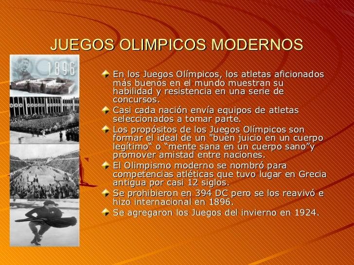 Historia Juegos Olimpicos 1