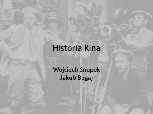 Historia Kina Wojciech Snopek Jakub Bugaj