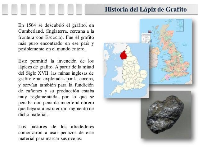 historia lapiz de grafito