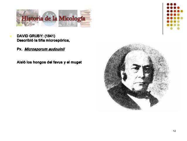 historia micologia