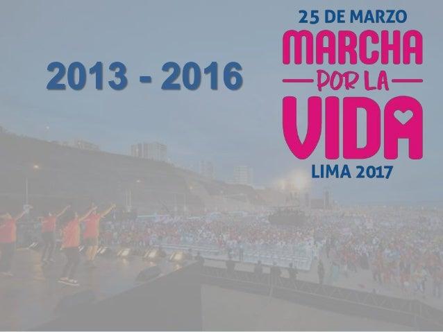 Marcha por la Vida Lima 2013 100 mil