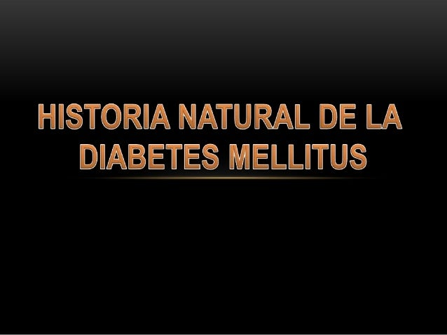 Historia natural de la diabetes