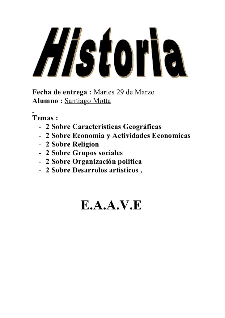 Fecha de entrega : Martes 29 de MarzoAlumno : Santiago MottaTemas :  - 2 Sobre Características Geográficas  - 2 Sobre Econ...