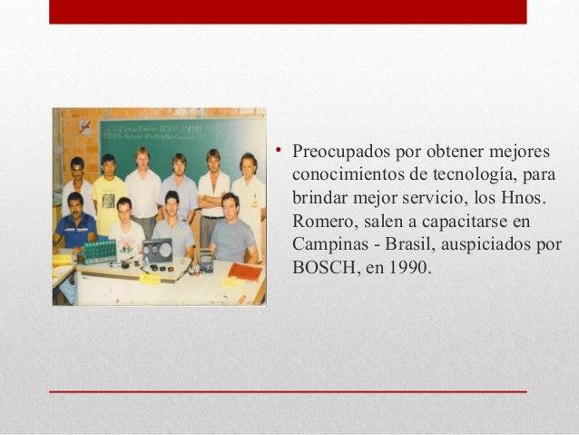 Historia Romero Hnos. Slide 2