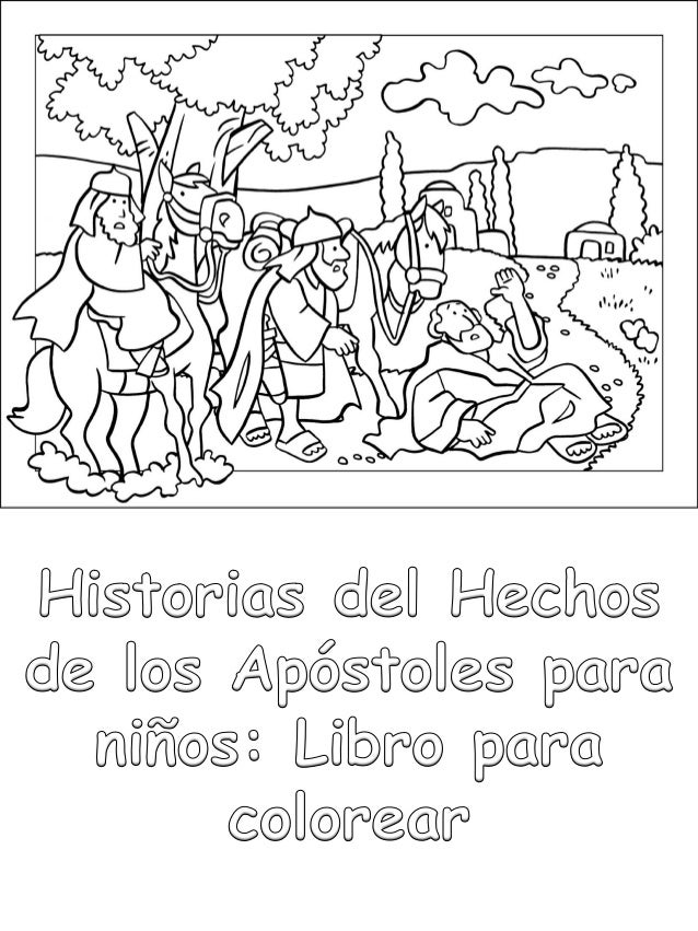 Historias Del Hechos De Los Apóstoles Para Niños Libro Para