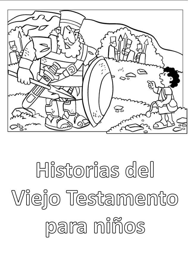 Historias del Viejo Testamento: Libro para colorear