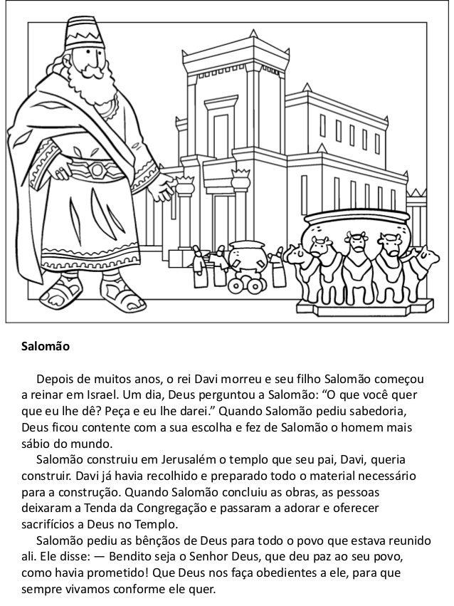 Historias Do Antigo Testamento Livro Para Colorir