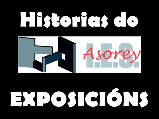 Historias doEXPOSICIÓNS