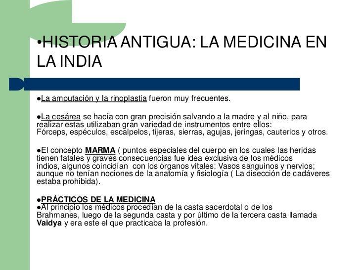 Historia universal de medicina