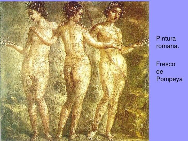 Pintura romana.Fresco dePompeya