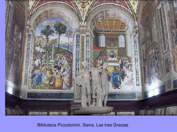 Las tres Gracias,en La Primavera               de        Botticelli.