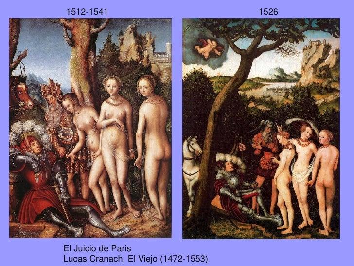 Las tres Gracias.Lucas Cranach el Viejo. 1531
