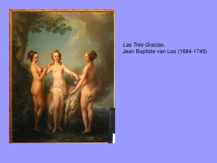 Las Tres Gracias.François Boucher. 1765.