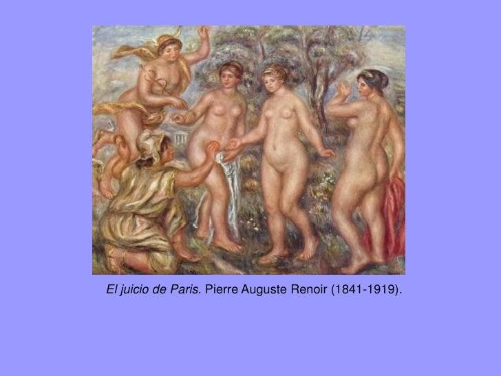 El juicio de Paris. Pintura de Enrique Simonet de 1904.