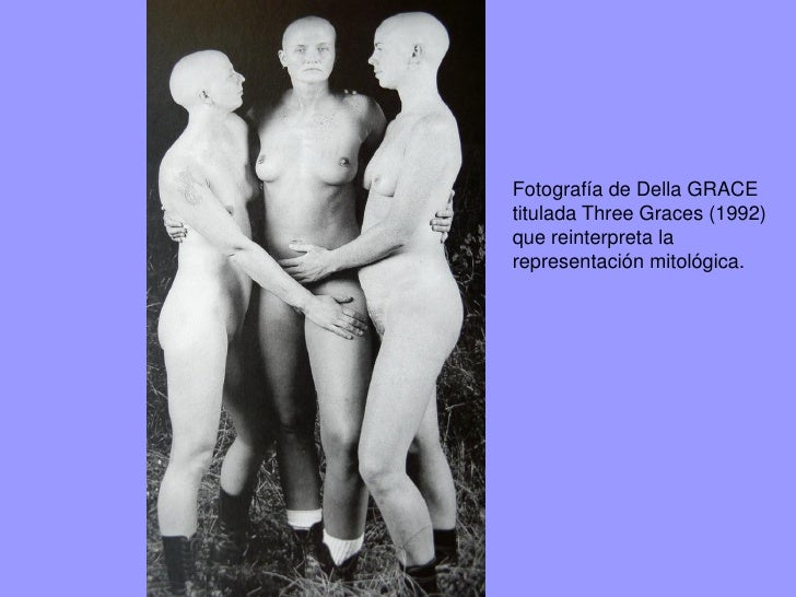 Las tres Gracias.Marta Moreu (finales siglo XX)