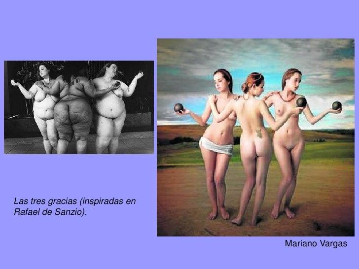 Las tres Gracias y un gracioso, Osvaldo Cipriani, 2008.