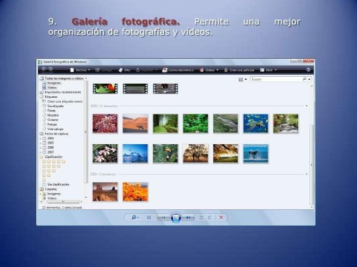 Galeria fotografica windows vista 24