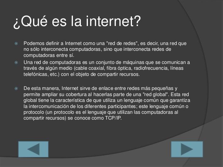 Historia y evolución de la internet Slide 2