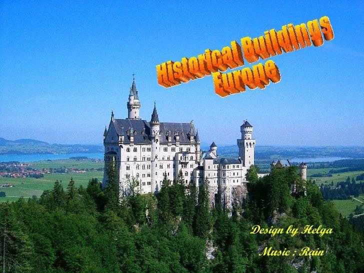 Historical Buildings Europe Design by Helga Music : Rain