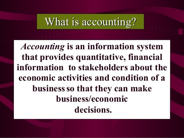 Development of Accounting Principles and Standards