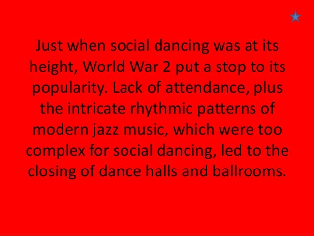 historical context dance This article is brought to you for free and open access by the dance at  in  bausch's production, there is less historical context in terms of a.