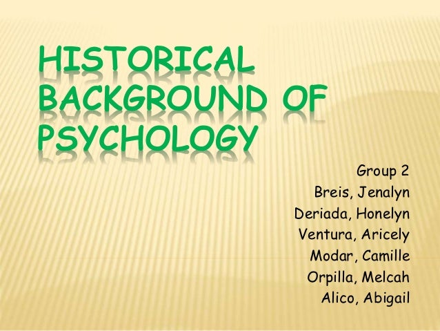 A brief history of Social Psychology and its contribution to health in Malawi