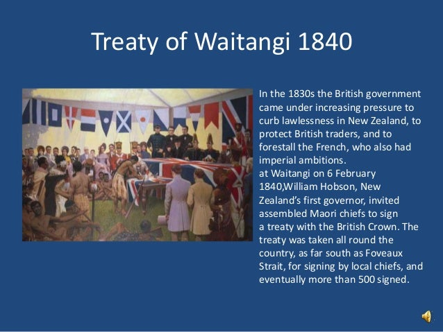 treaty of waitangi report Correspondents report cosmic talking about the treaty of waitangi the waitangi treaty has become a means by which some of the wrongs of the colonial era.