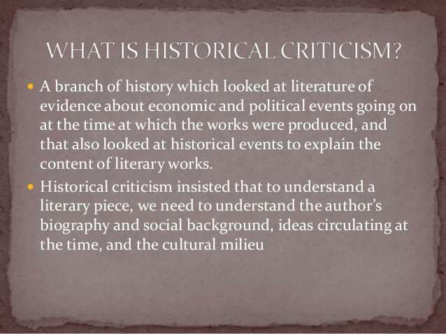 What is the biographical approach to literary criticism and how is.