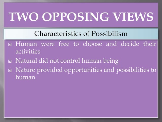 what is environmental determinism