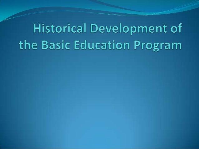 Philippine Basic Education Curricular Reforms
