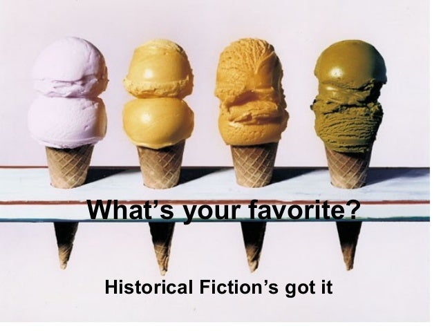 What's your favorite? Historical Fiction's got it