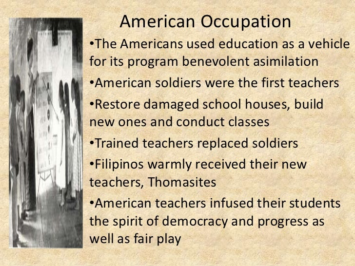 American occupation.