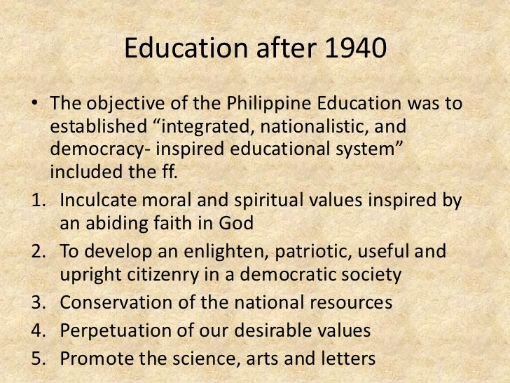 historical foundation of education