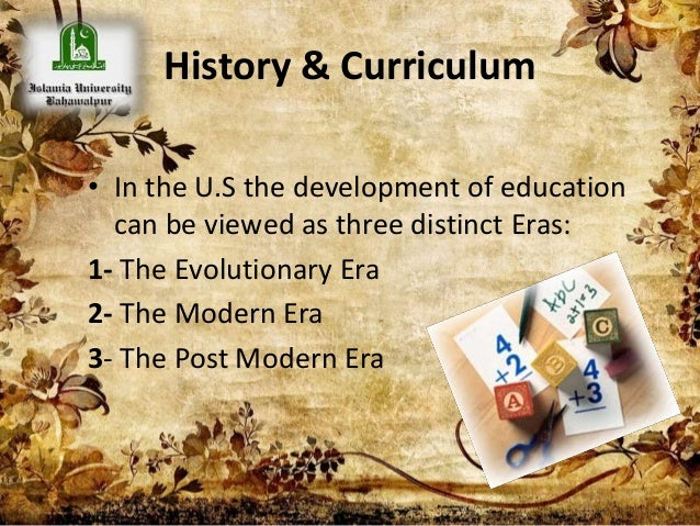 An Overview of the Purpose of Education in the Modern Era