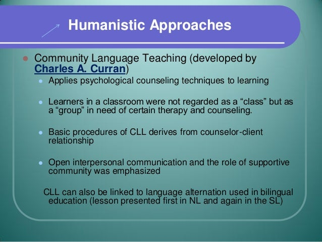 humanistic language teaching 2015-7-8 language teaching,  the role of teachers in college english classroom  to be a humanistic teacher means a teacher's behavior should be democratic and his.