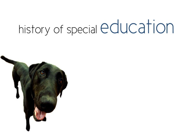 Historical overview of special education in the usa  1800 present