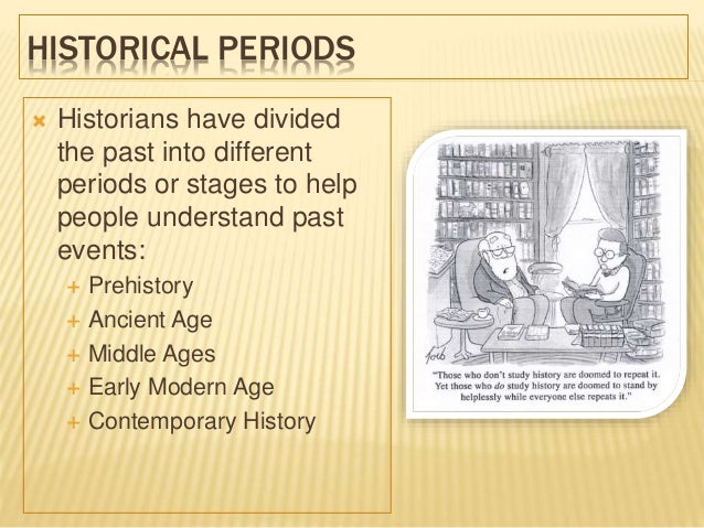 History and Historical Periods