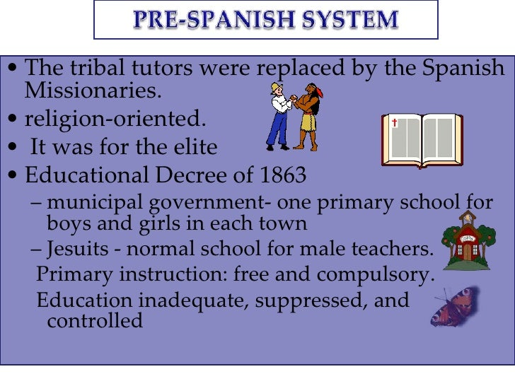 historical perspective of the philippine educational system essay The crisis of public education in the philippines  the educational system in the country i come from is the integration of millions of mostly non-european, in most.