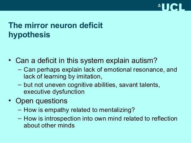mindblindness autism writing and the problem of empathy