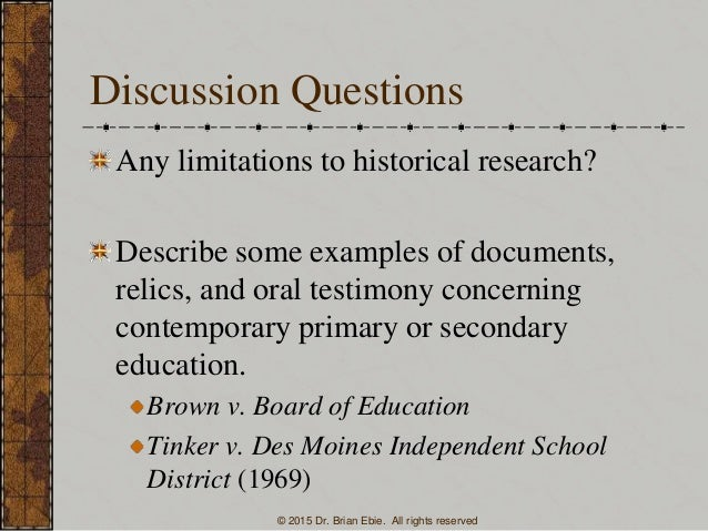 Research paper on brown vs board of education