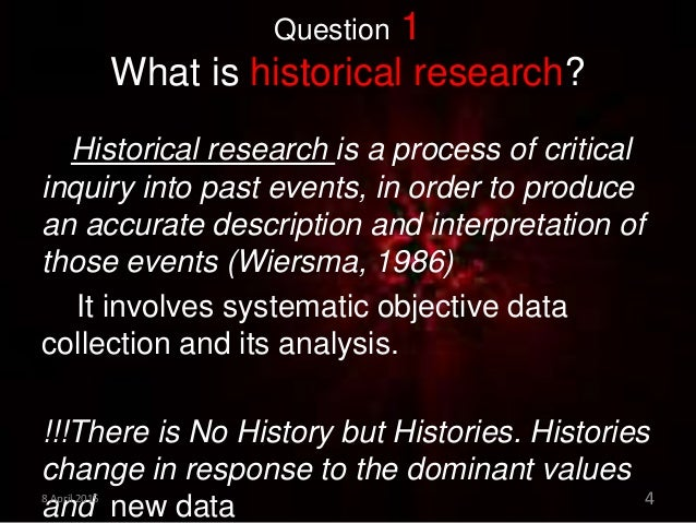 how to become a historical researcher